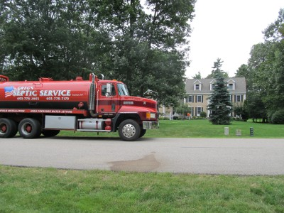 Greg's Septic Pump Truck
